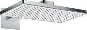 Hansgrohe Rainmaker Select shower head 460 1jet with shower arm chrome/white (24003400)