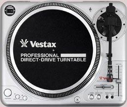 Vestax PDX 2000 MKII silber