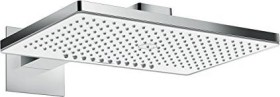 Hansgrohe Rainmaker Select shower head 460 2jet with shower arm chrome/white (24005400)