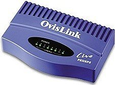 OvisLink Live-FSH8PS 8-portowy 10/100Mbps switch