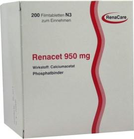 Renacet 950mg Filmtabletten, 200 Stück