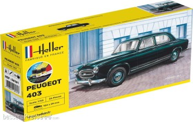 Heller Starter Kit Peugeot 403 (56161)