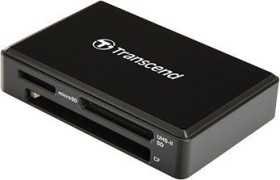 Transcend RDF9 v2 black Multi slot-Card Readers, USB-A 3.0 [plug] (TS-RDF9K2)