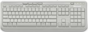 Microsoft Wired Keyboard 600 weiß, USB (verschiedene Layouts)