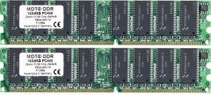 MDT DIMM Kit 2GB, DDR-400, CL2.5