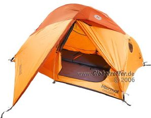 Marmot Twilight 2P dome tent -- ©globetrotter.de