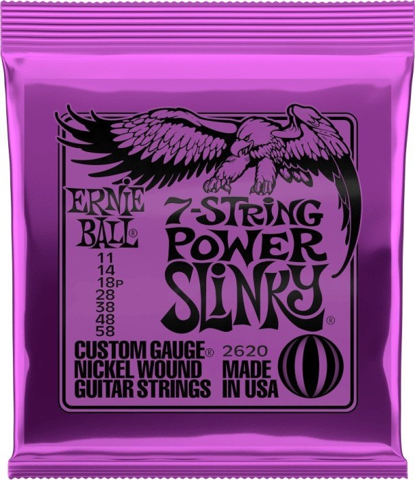 Ernie Ball nickel Wound Power Slinky 7-string (P02620)
