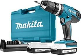 Makita HP457DWE10 Akku-Schlagbohrschrauber inkl. Koffer + 2 Akkus 1.5Ah + Zubehör