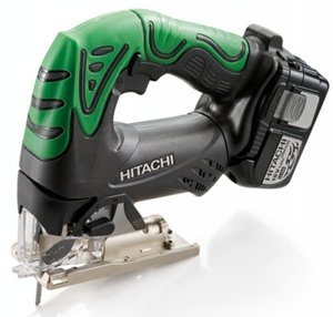 Hitachi CJ18DL cordless scroll jigsaw incl. 2 Batteries 3.0Ah