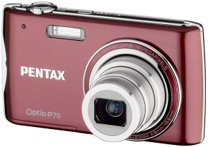 Pentax Optio P70 red (17604)