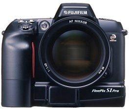Fujifilm FinePix S1 Pro schwarz Gehäuse