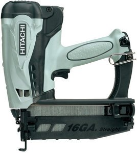 Hitachi NT65GS Battery operated gas Nailer