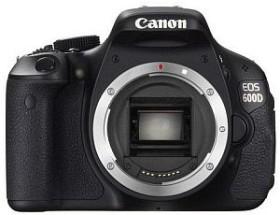 Canon EOS 600D schwarz Body (5170B017)