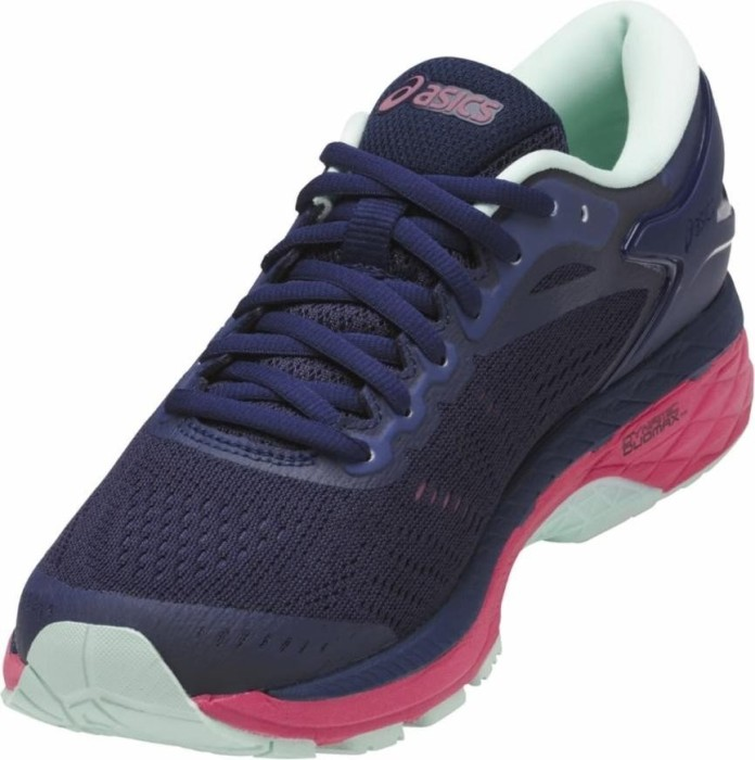 Asics gel-Kayano 24 Lite-Show indigo blue black reflective (ladies)  (T7A8N-4990) starting from £ 80.00 (2019)  f5ea85a5b7