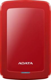 ADATA HV300 rot 4TB, USB 3.0 (AHV300-4TU31-CRD)