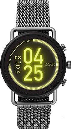 Skagen Connected Falster 3 grau mit Milanaise-Armband grau (SKT5200) -- via Amazon Partnerprogramm