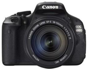 Canon EOS 600D schwarz mit Objektiv EF-S 18-135mm 3.5-5.6 IS (5170B031)