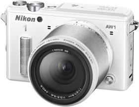 Nikon 1 AW1 weiß mit Objektiv AW 11-27.5mm 3.5-5.6 (VVA203K001)