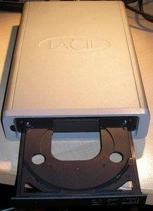 LaCie d2 DVD-RAM & DVD-RW Mac, FireWire (300868) -- © bepixelung.org