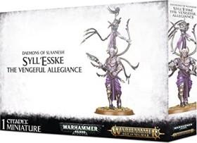 Games Workshop Warhammer Age of Sigmar - Hedonites of Slaanesh - Syll'Esske The Vengeful Allegiance (99129915055)