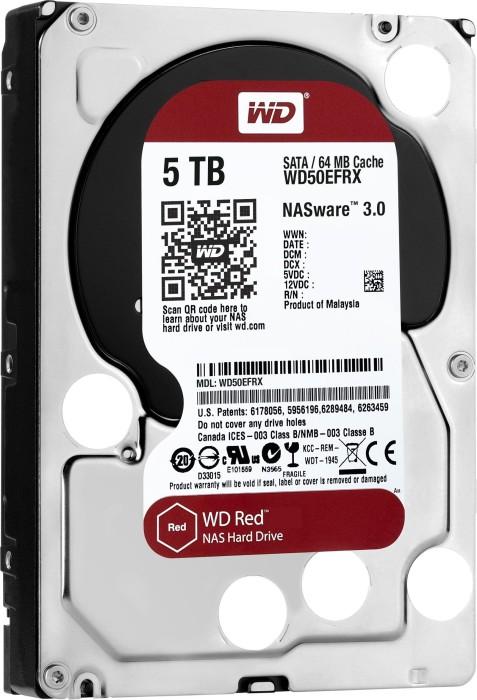 Western Digital WD Red 5TB, SATA 6Gb/s (WD50EFRX)