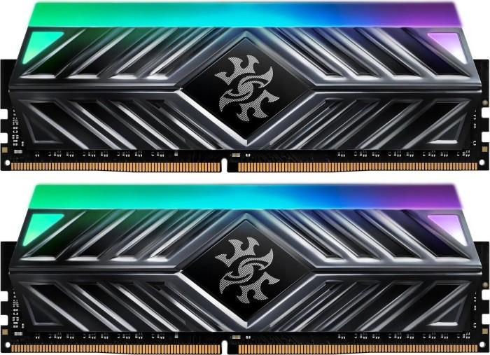 ADATA XPG Spectrix D41 grey RGB DIMM kit 16GB, DDR4-3000, CL16-18-18 (AX4U300038G16-DT41)