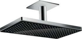 Hansgrohe Rainmaker Select shower head 460 1jet with ceiling connector chrome/black (24002600)