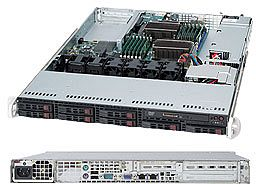 Supermicro SuperChassis 113TQ-600WB schwarz, 1HE, 600W