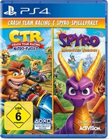 Crash Team Racing: Nitro-Fueled & Spyro: Reignited Trilogy (PS4)