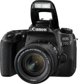 Canon EOS 77D schwarz mit Objektiv Fremdhersteller