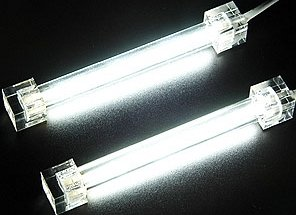 Revoltec CCF/Cold cathode tubes Twin set white, 10cm (RM095)