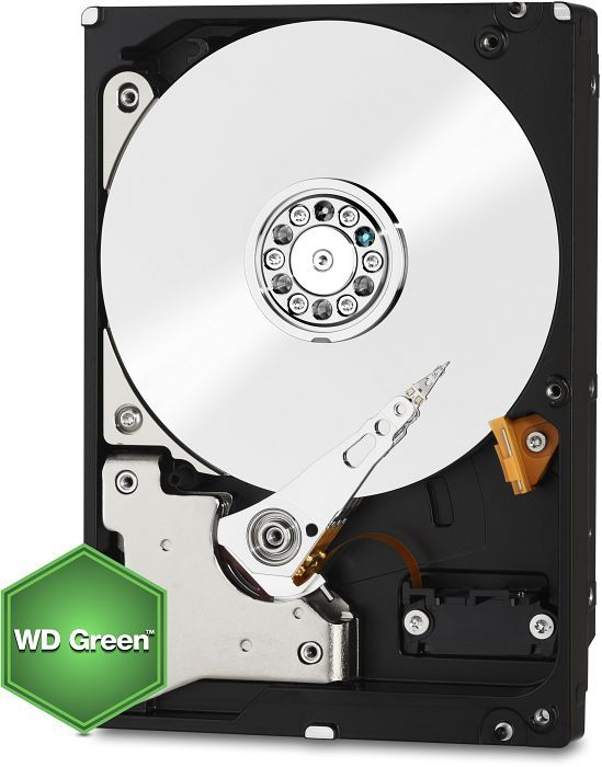 Western Digital WD Green  1TB, 150MB/s, SATA 6Gb/s (WD10EZRX)