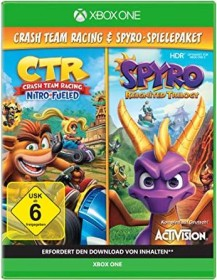 Crash Team Racing: Nitro-Fueled & Spyro: Reignited Trilogy (Xbox One)