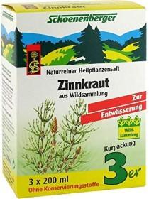 Salus Schoenenberger Zinnkraut Heilpflanzensaft, 600ml (3x 200ml)