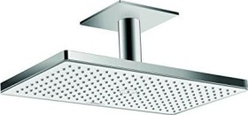 Hansgrohe Rainmaker Select shower head 460 1jet with ceiling connector chrome/white (24002400)
