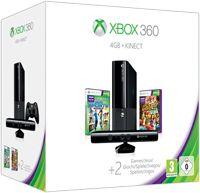 Microsoft New Xbox 360 Slim E - 4GB Kinect Bundle
