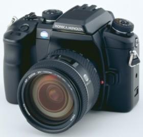 Konica Minolta Dynax 7D Digital schwarz mit Objektiv AF 28-75mm 2.8 D