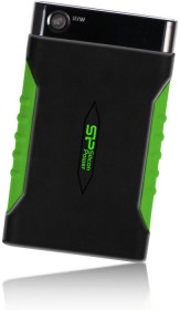 Silicon Power Armor A15 schwarz/grün 500GB, USB 3.0 Micro-B (SP500GBPHDA15S3K)