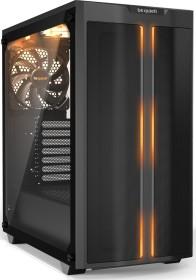 be quiet! Pure Base 500DX schwarz, Glasfenster, schallgedämmt (BGW37)