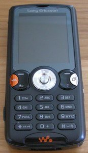 Sony Ericsson W810i -- provided by bepixelung.org - see http://bepixelung.org/455 for copyright and usage information