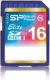Silicon Power elite SDHC 16GB, UHS-I, Class 10 (SP016GBSDHAU1V10)