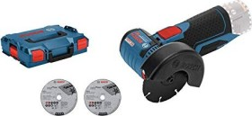 Bosch Professional GWS 12V-76 cordless angle grinder solo incl. L-Boxx (06019F2003)