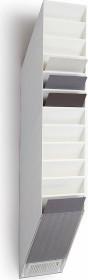Durable Prospekthalter Flexiboxx 12, A4 Hochformat, 12 Fächer, weiß (1709763010)