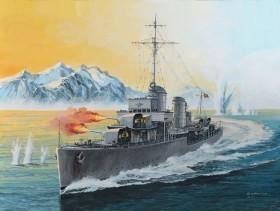 Revell German Destroyer Type 1936 (05141)