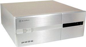 SilverStone Lascala LC10 silver (SST-LC10S) -- © caseking.de