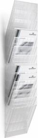 Durable Prospekthalter Flexiboxx 12, A4 Hochformat, 12 Fächer, transparent (1709763400)