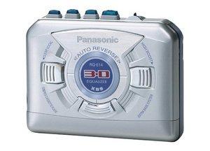 Panasonic RQ-E14 silber