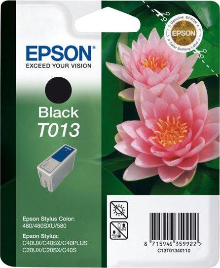 Epson T013 Tinte schwarz (C13T01340110)