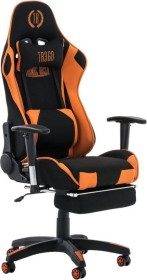 CLP Turbo with fabric gaming chair, black/orange (1916705126)