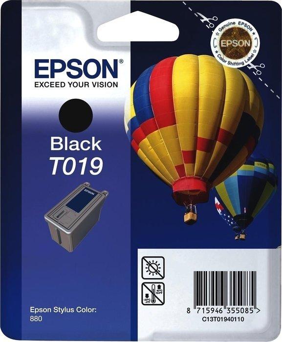 Epson ink T019 black (C13T01940110)